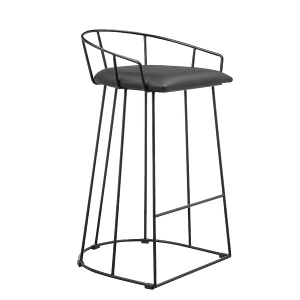 Brittanie Bar & Counter Stool By Wrought Studio