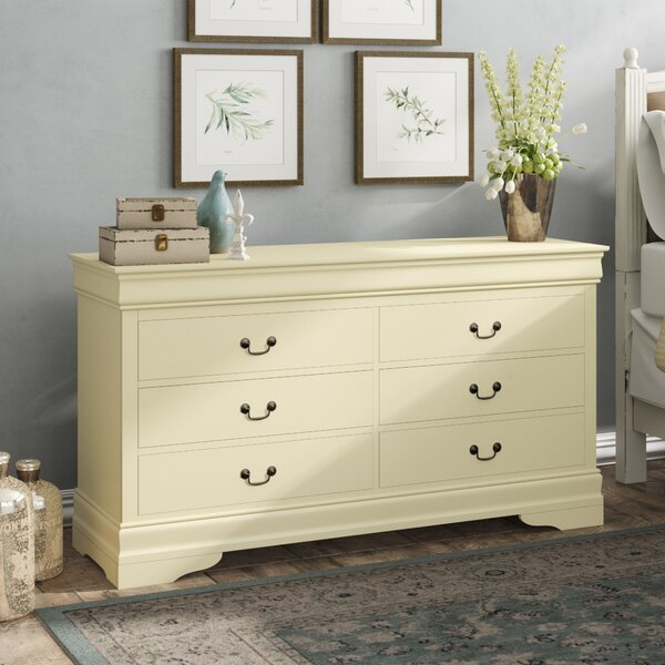 Babcock 6 Drawer Double Dresser By Lark Manor by Lark Manor Bargain