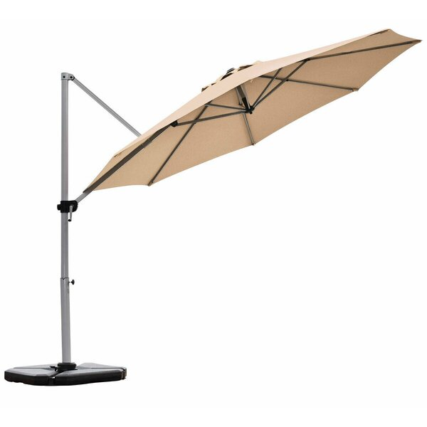 Terracotti 11' Cantilever Umbrella By Latitude Run by Latitude Run 2020 Sale