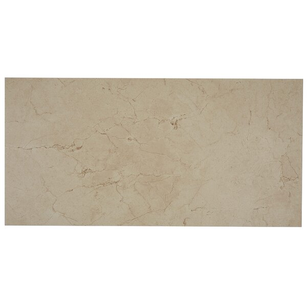 Florentine 12 x 24 Porcelain Field Tile in Marfil by Daltile