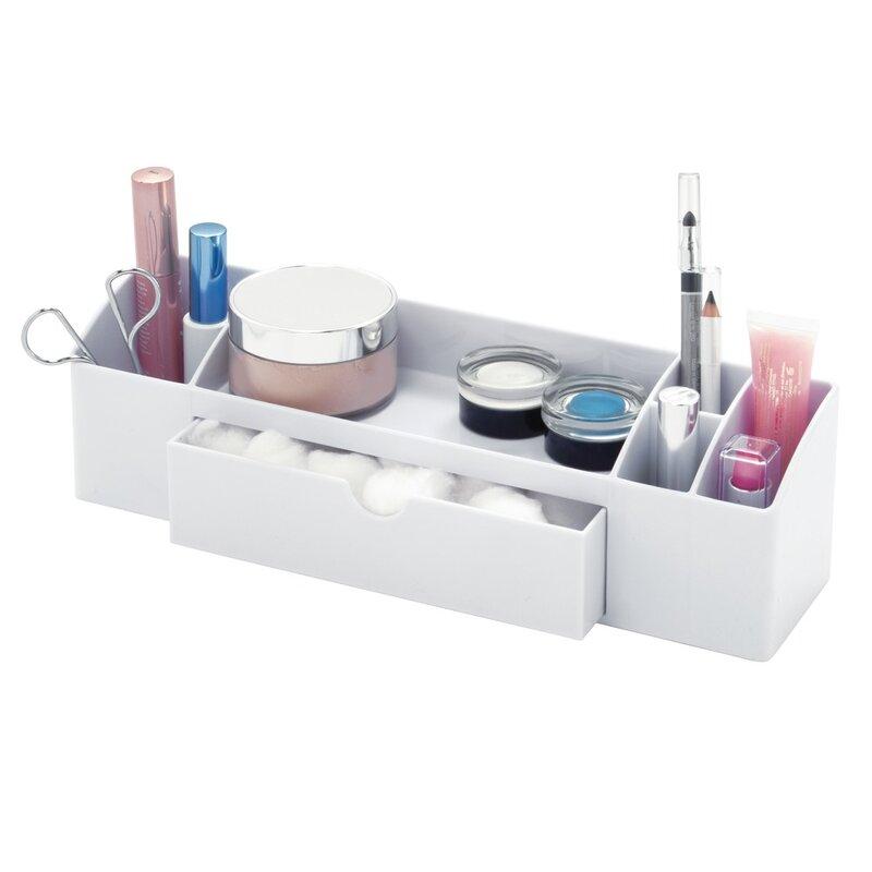 InterDesign Cottrell Medicine Drawer Caddy Cosmetic Organizer ...