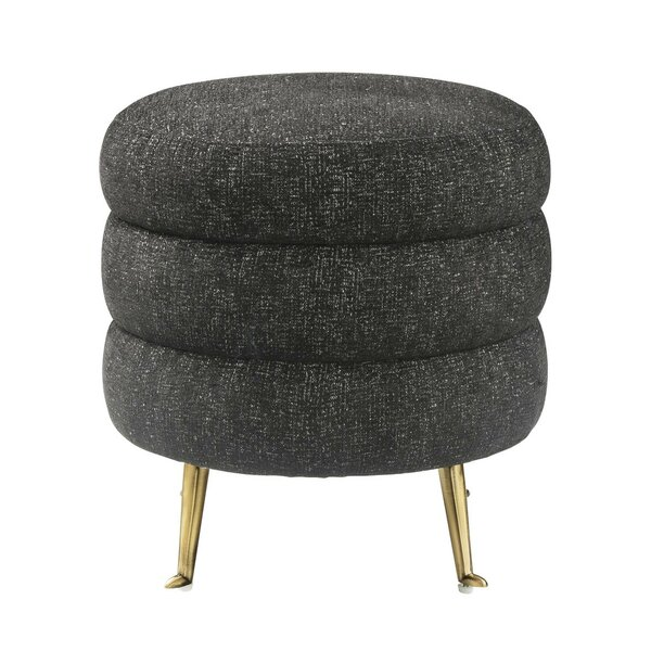 Laverne Ladder Tufted Ottoman by Everly Quinn