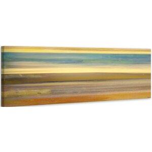 'Sand Streaks' by Parvez Taj Painting Print on Wrapped Canvas by Langley Street