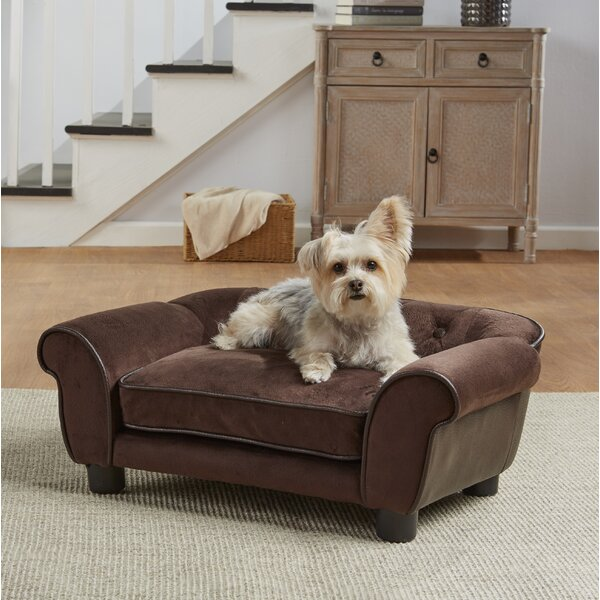 Lonnie Cleo Dog Sofa with Cushion by Tucker Murphy Pet