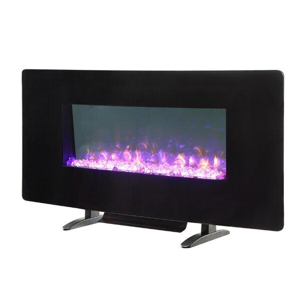 Ranjit LED Wall Mounted Electric Fireplace by Orren Ellis Orren Ellis