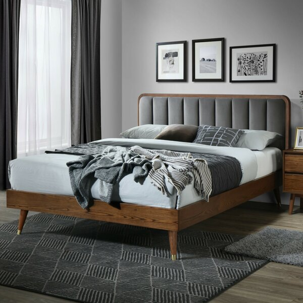 Canaday Queen Upholstered Platform Bed by Corrigan Studio