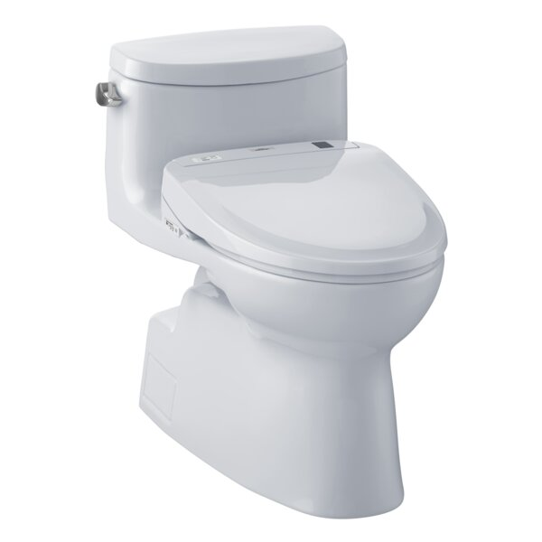 Carolina 1.28 GPF Elongated One-Piece Toilet by Toto