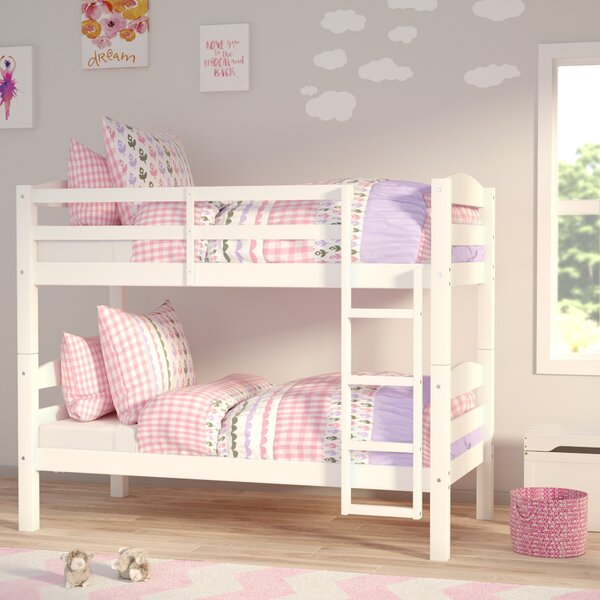 Abby Twin Over Twin Bunk Bed By Viv + Rae by Viv + Rae