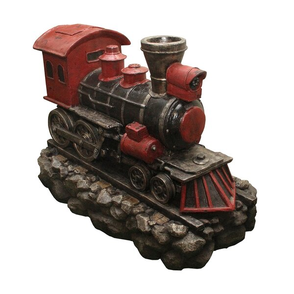 Locomotive Train Fountain with LED Light by Northlight Seasonal