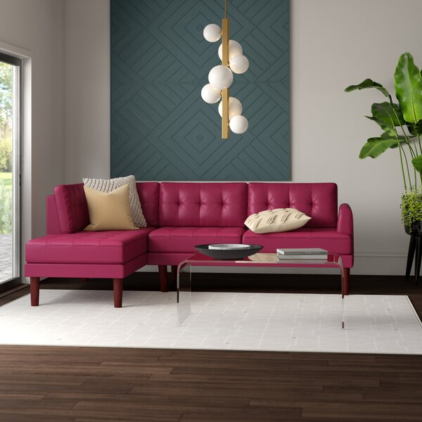 The Most Stylish And Classic Longe Sectional by Mercury Row by Mercury Row