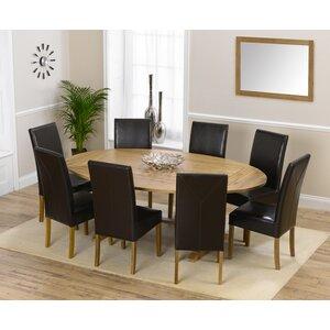 Essgruppe Spencer mit ausziehbarem Tisch und 8 S..