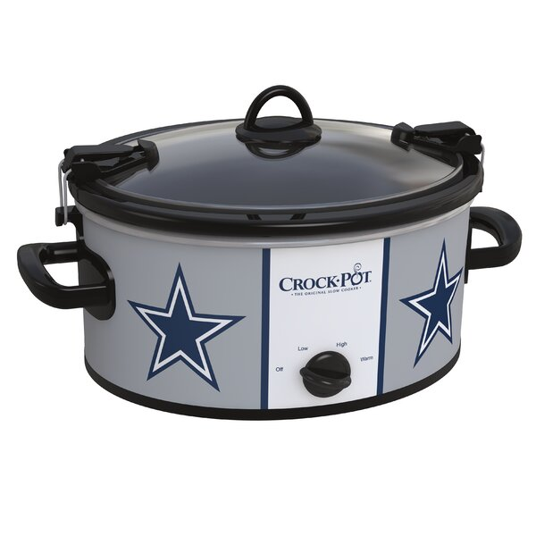 6-Quart NFL Cook & Carry™ Slow Cooker by Crock-pot