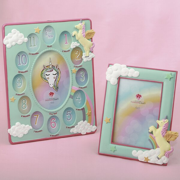 Jarred 2 Piece Unicorn Picture Frame Set by Harriet Bee