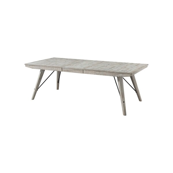 Bemelle Rustic Trestle Table by Gracie Oaks