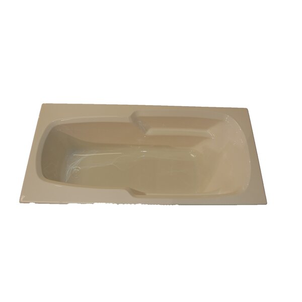66 x 32 Massage Arm-Rest Soaking Tub by American Acrylic