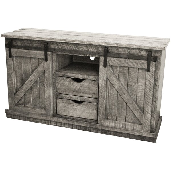 Malloy Solid Wood TV Stand for TVs up to 58