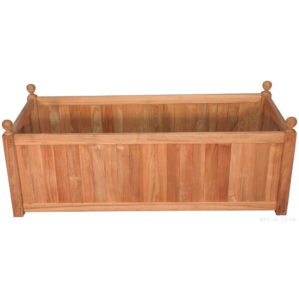 Mission Teak Planter Box by Regal Teak