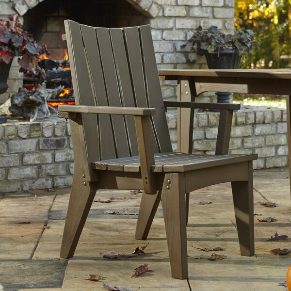 Hourglass Patio Dining Chair by Uwharrie Chair