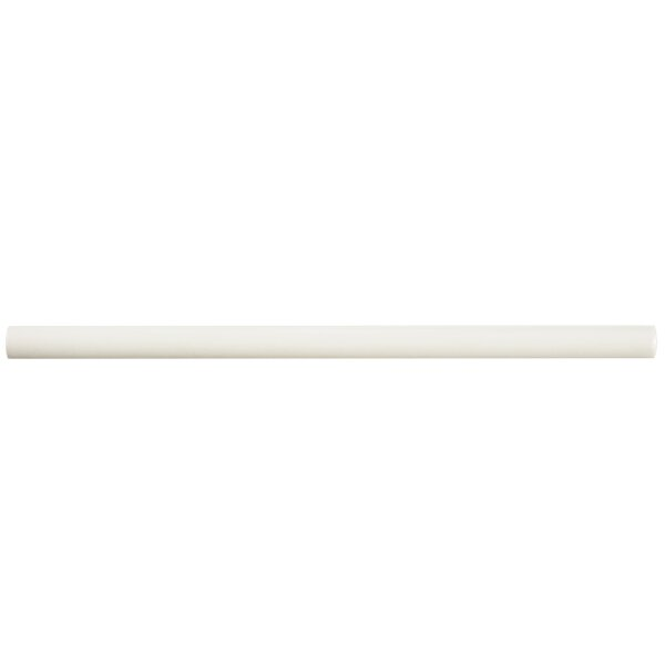 Bira 11.75 x 0.5 Ceramic Cana Cigarro Trim Liners/Pencil Liners Tile in Soft Cream (Set of 5) by EliteTile