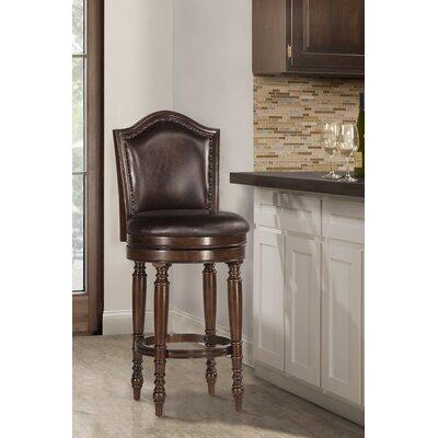 Milliner Bar & Counter Swivel Stool Astoria Grand Seat Height: Counter Stool (26