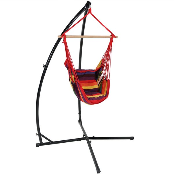 Kasandra Durable Metal Hammock Chair Stand By Freeport Park