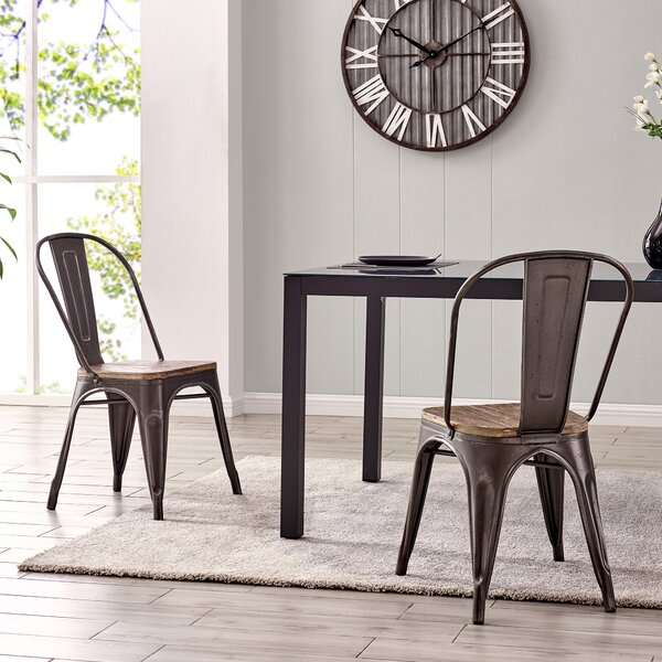 Encarnacion Dining Chair (Set of 2) by Gracie Oaks