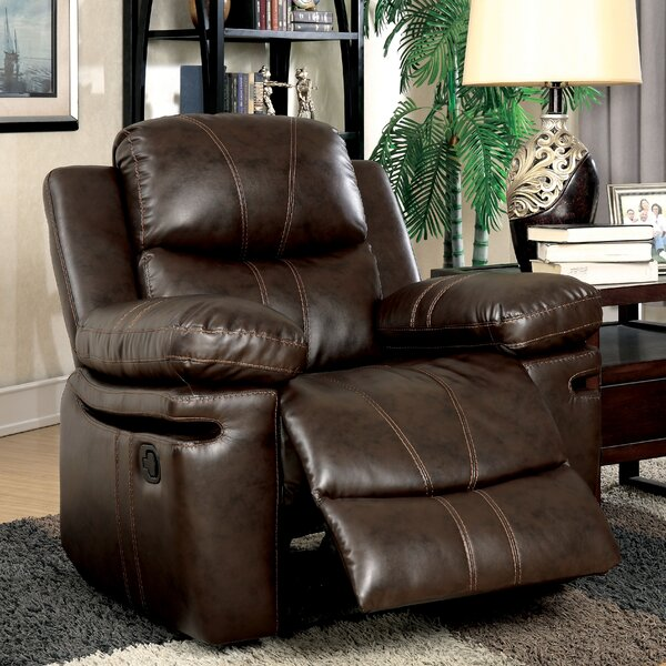 Litchfield Manual Recliner [Red Barrel Studio]