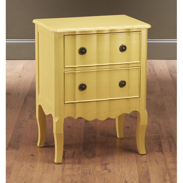 2 Drawer Nightstand by AA Importing AA Importing