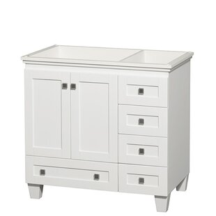 Best Reviews Acclaim 36 Single Bathroom Vanity Base Only ByWyndham Collection