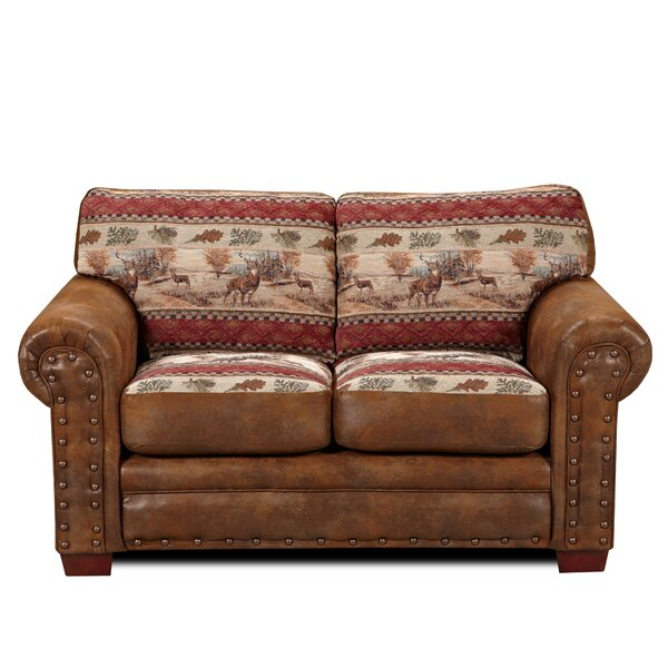Valuable Price Charlie Loveseat by Millwood Pines by Millwood Pines