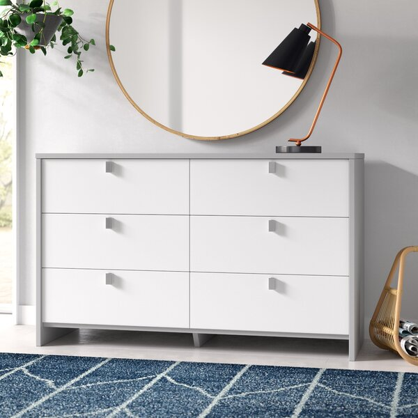 Cookie 6 Drawer Double Dresser by South Shore