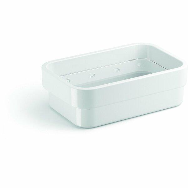 Snediker Countertop Soap Dish with Drain by Orren Ellis