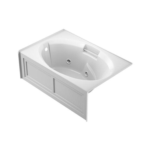 Nova Left-Hand 60 x 36 Skirted Whirlpool Bathtub by Jacuzzi®