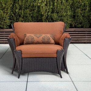 outdoor club chairs you'll love | wayfair