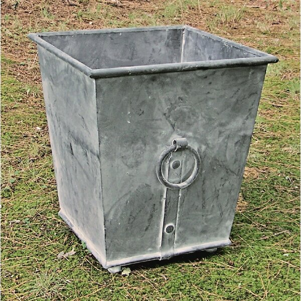 Dill Galvanized Steel Pot Planter by Williston Forge