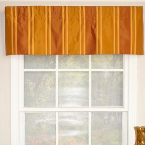 Euro Stripe Straight Curtain Valance