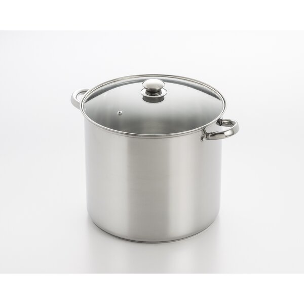 Stock Pot with Lid by Cook Pro