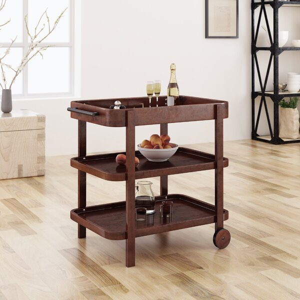 Lena Bar Cart by Millwood Pines Millwood Pines