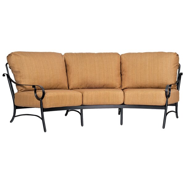 Ridgecrest Patio Sofa with Cushions by Woodard