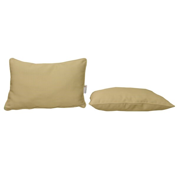 Outdoor Sunbrella Lumbar Pillow (Set of 2) by Bellini Home and Garden