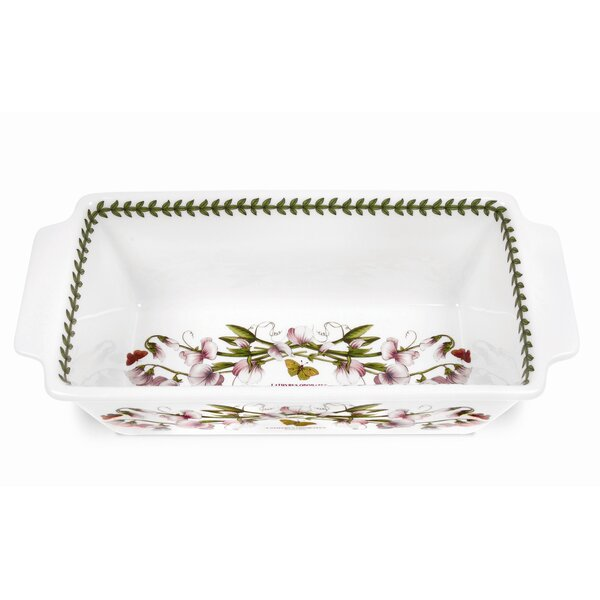 Botanic Garden Meat Loaf Dish by Portmeirion