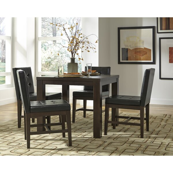 Vernet 5 Piece Dining Set by Millwood Pines Millwood Pines