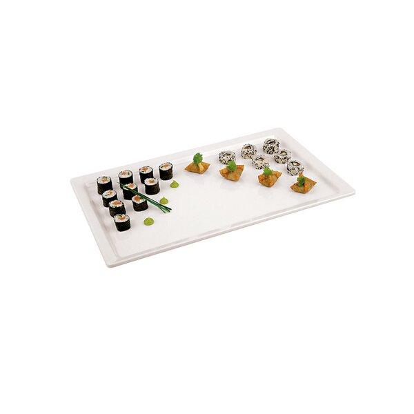 20.88 Rectangular Melamine Platter by Paderno World Cuisine