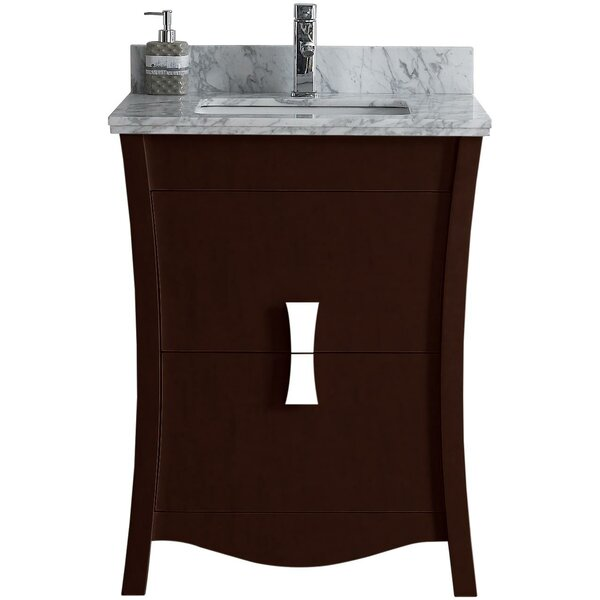 Bow 24 Single Bathroom Vanity Set by American Imaginations