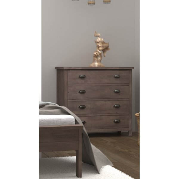Barna 4 Drawer Dresser by Gracie Oaks