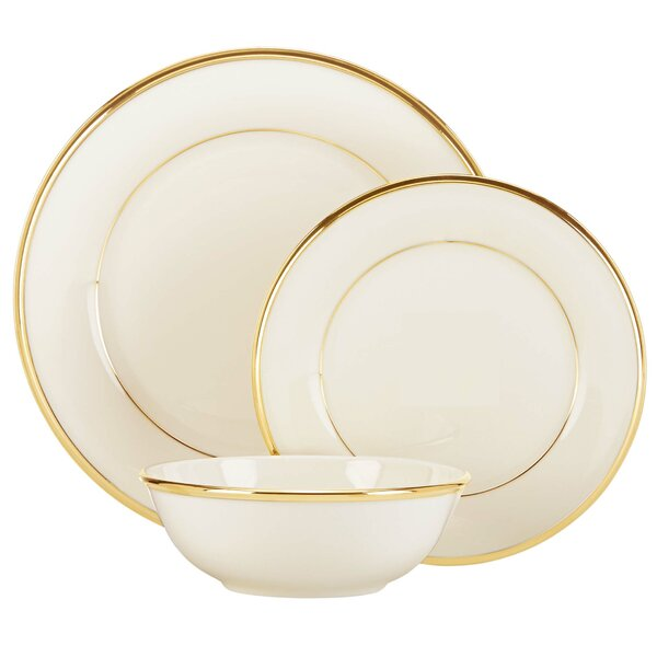 Eternal 3 Piece Place Setting, Service for 1 by Lenox