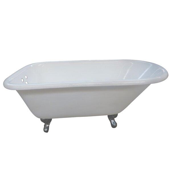 Aqua Eden 54 x 30.13 Soaking Bathtub by Kingston Brass