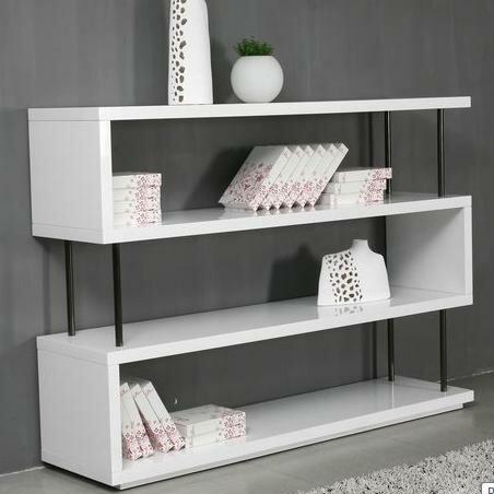 Camron Geometric Bookcase By Orren Ellis