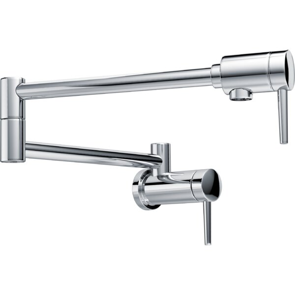 Contemporary Wall Mount Pot Filler by Delta