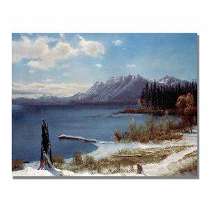 Lake Tahoe by Albert Bierstadt Photographic Print on Canvas by Trademark Fine Art
